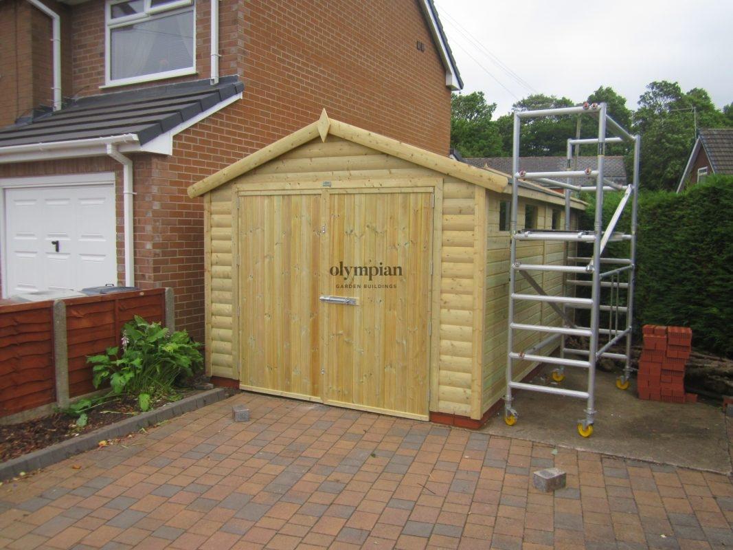 Wooden Garages 24