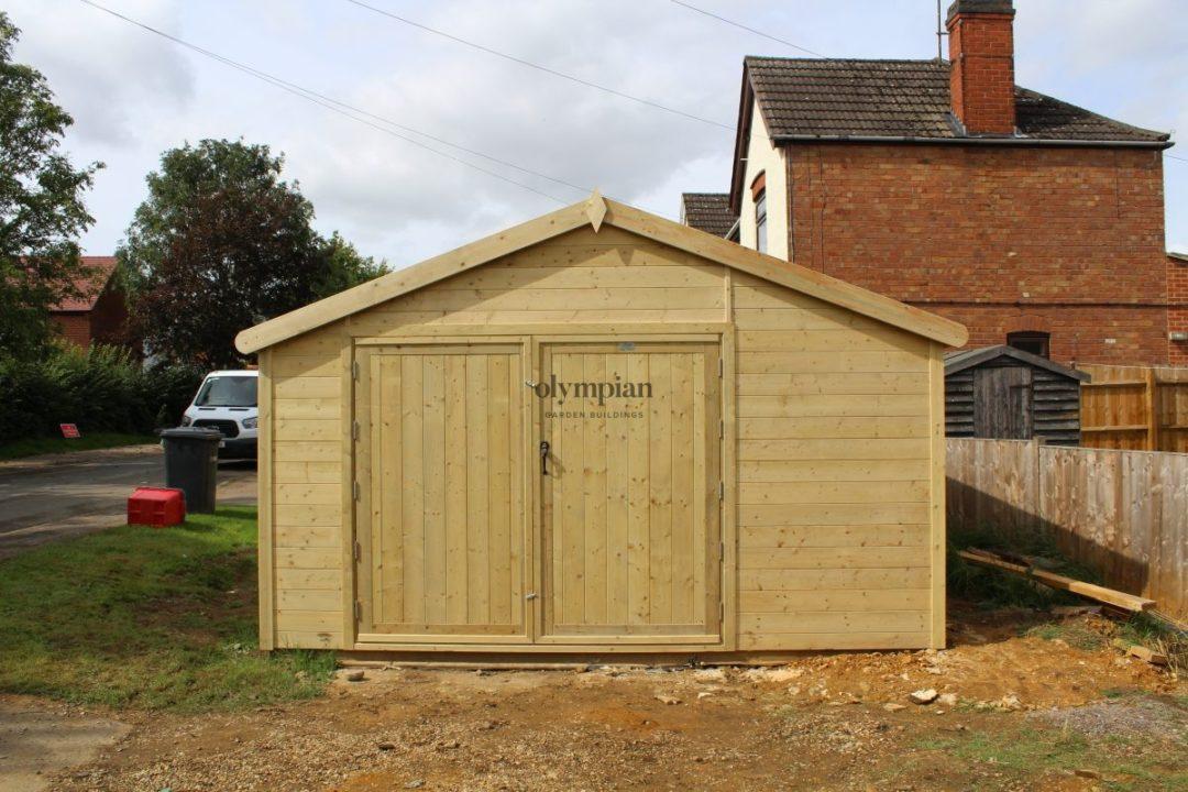 Wooden Garages 25