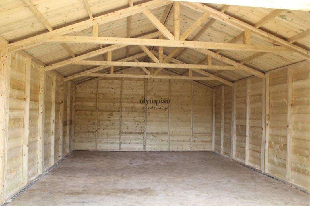 Wooden Garages 26