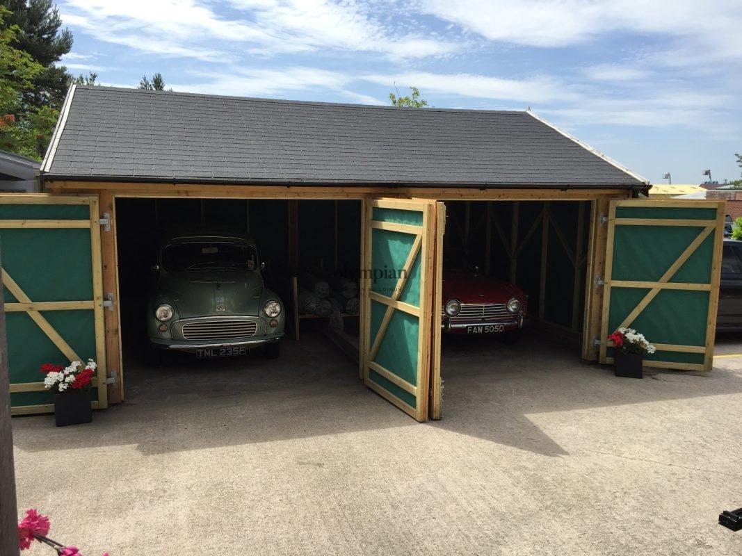 Wooden Garages 1