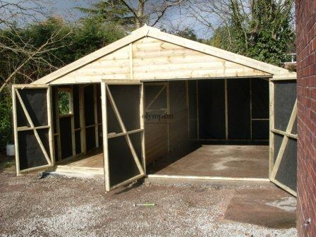 Wooden Garages 31