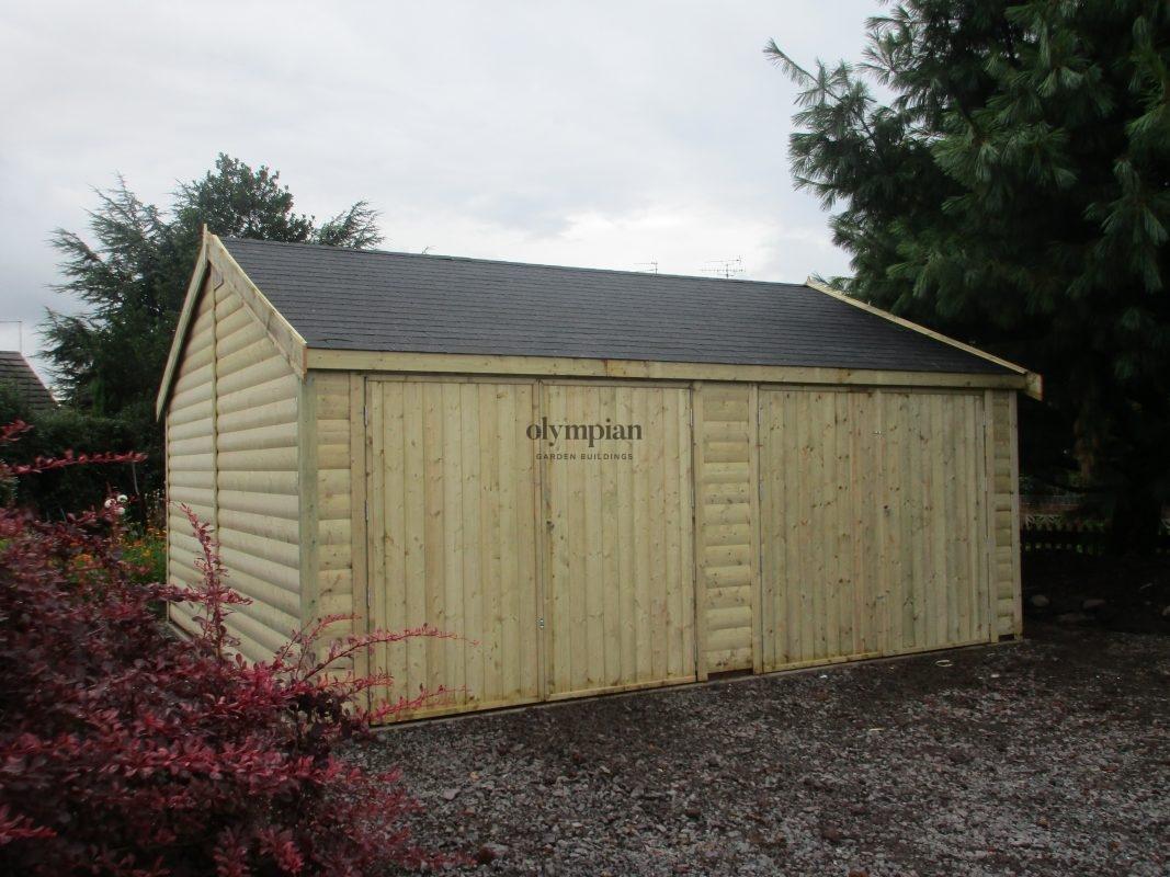 Wooden Garages 32
