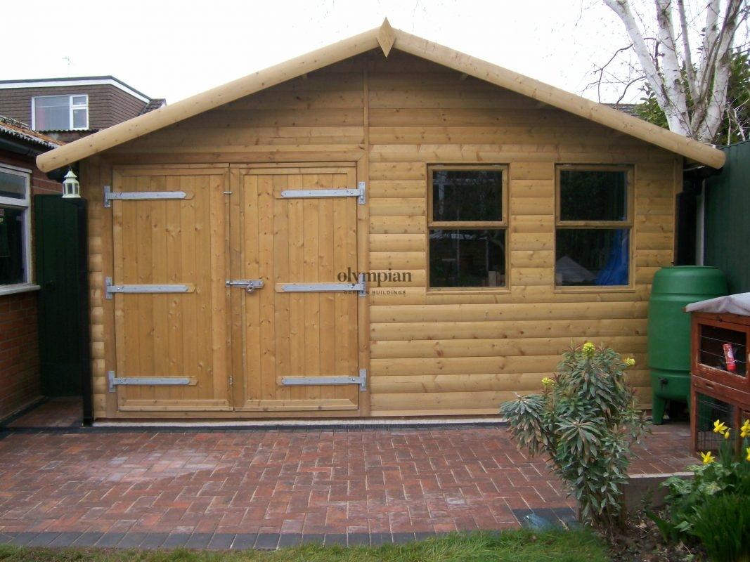 Wooden Garages 33