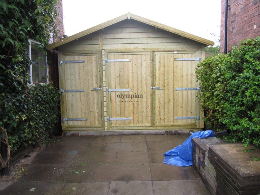 Wooden Garages 35
