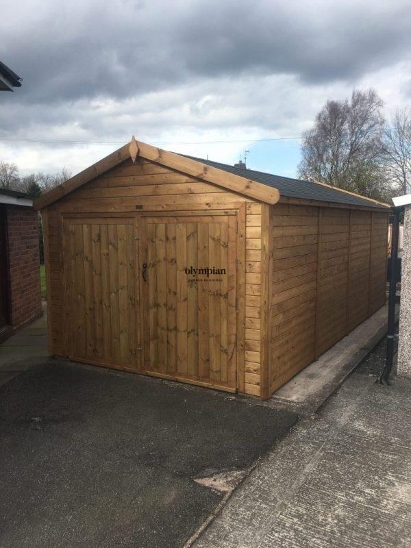 Wooden Garages 36