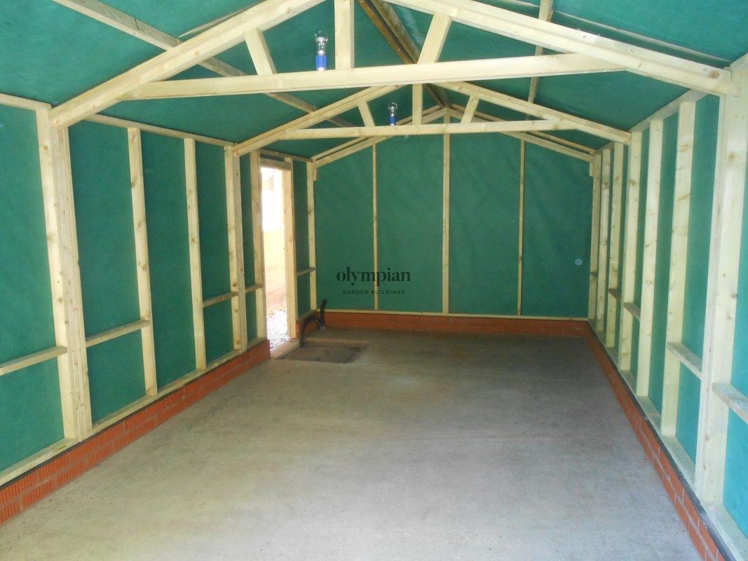 Wooden Garages 2