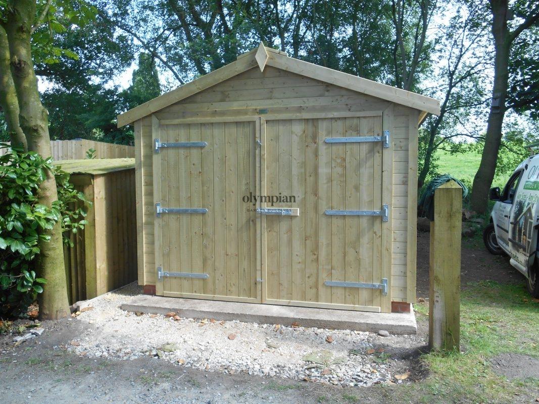 Wooden Garages 3