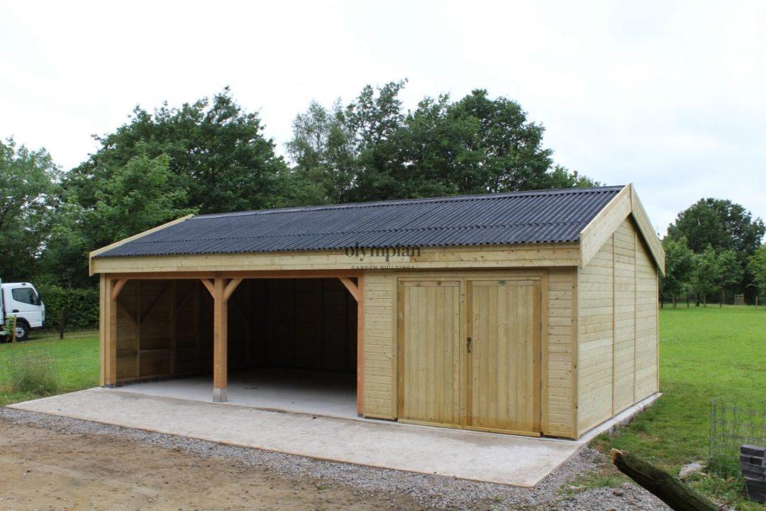 Wooden Garages 4