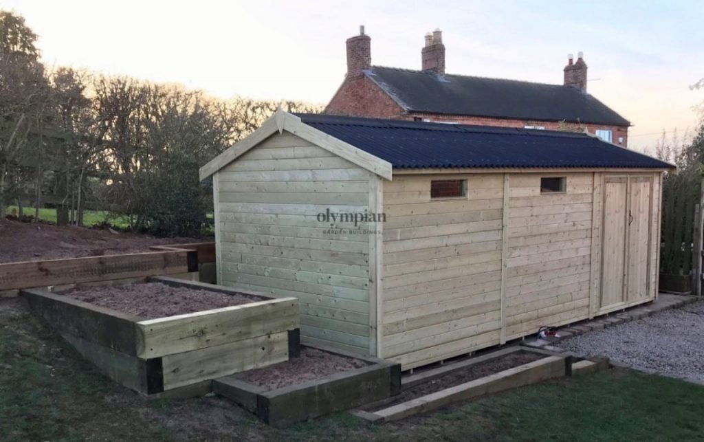 Heavy Duty Garden Shed, Wrexham