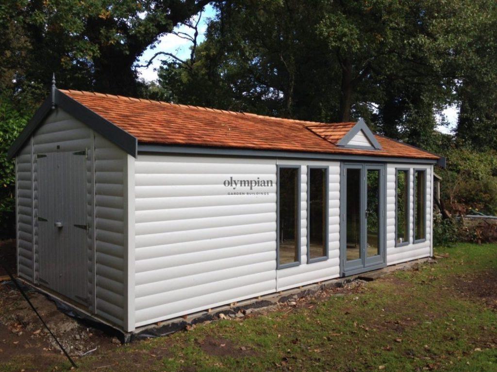 Bespoke Combination Garden Building, Alsager