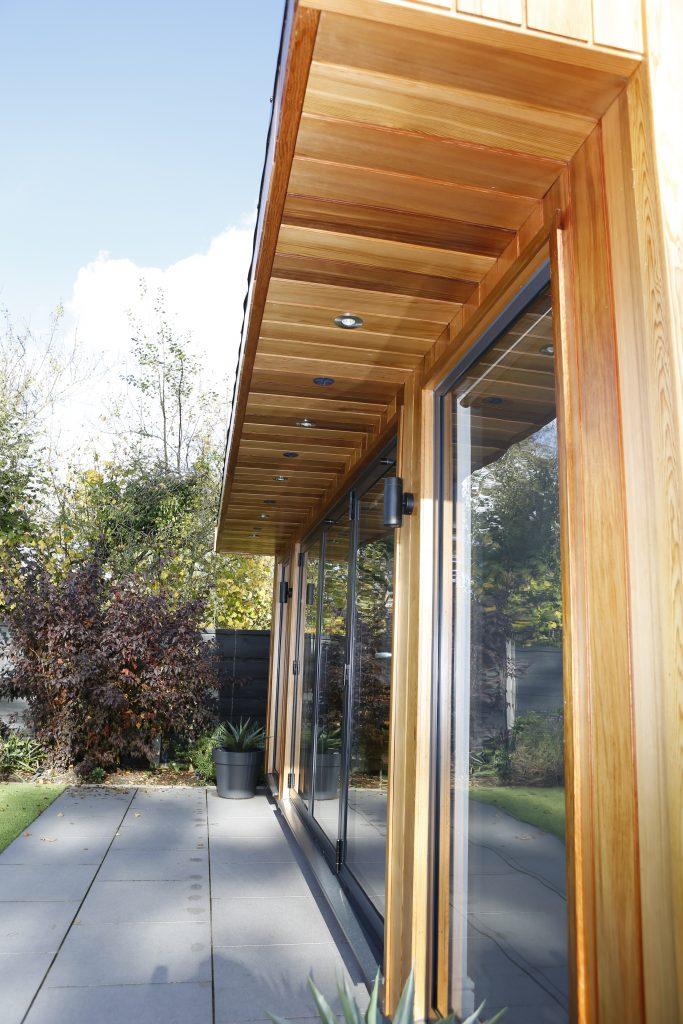 Contemporary Garden Room - Front