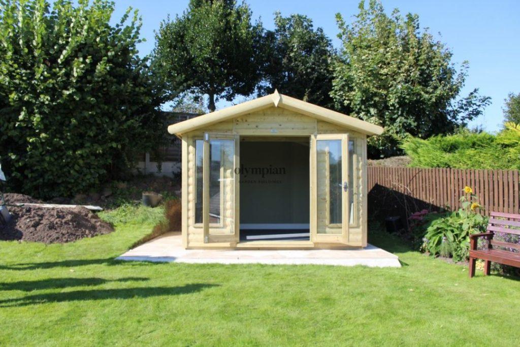 Happy Customer feedback summerhouse in garden