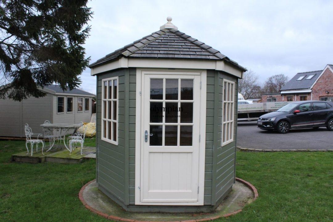 8' x 7' Hexagonal Tatton Summerhouse
