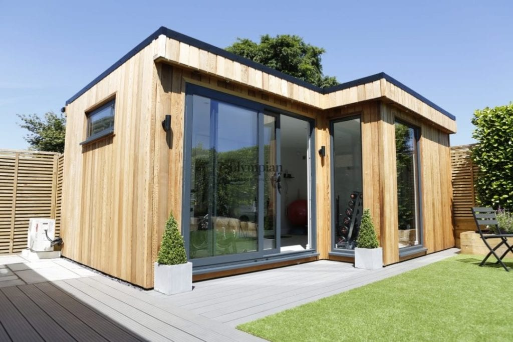 Contemporary Garden Room in Alderley Edge