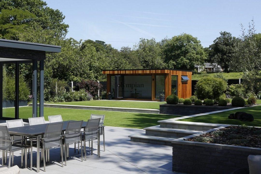 Contemporary Garden Room in Prestbury