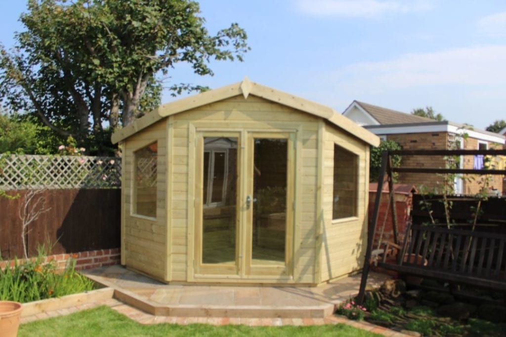 Make The Most Of Your Garden With An Olympian Garden Buildings Summerhouse