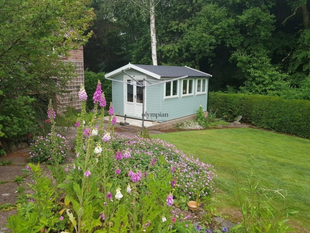 Insulated Artists Studio in Holmes Chapel