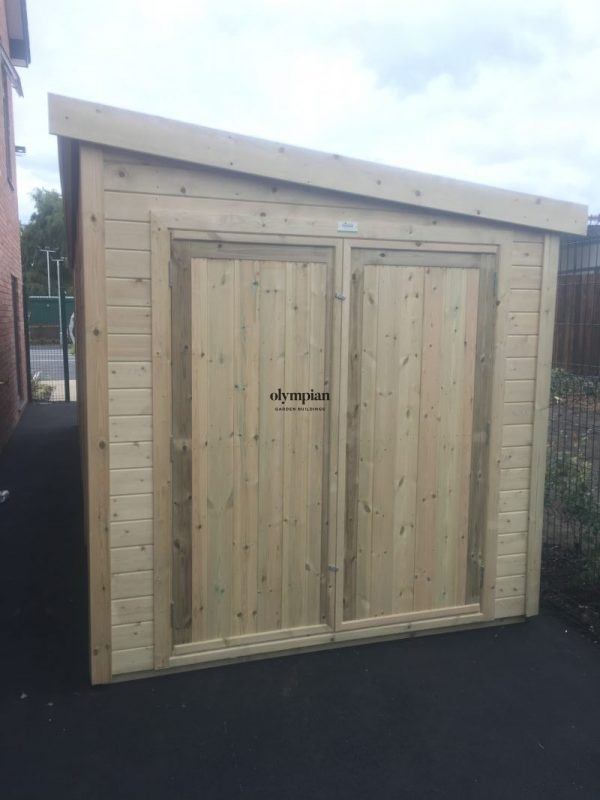 Large Pent Shed