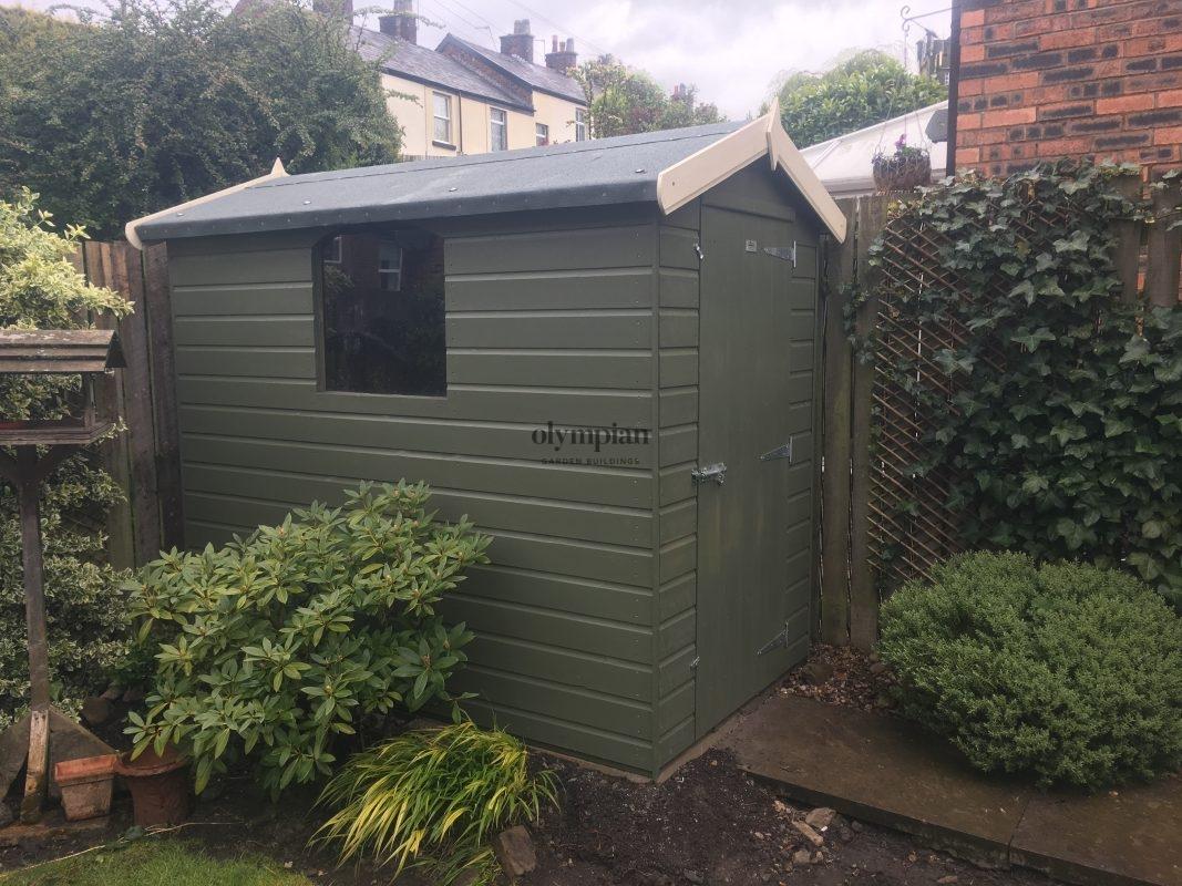 standard apex shed