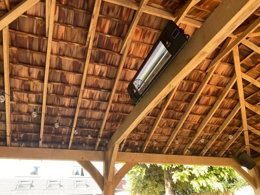 Oak Gazebo Roof